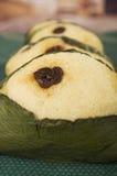 Quimbolitos ecuadorian traditional dessert Royalty Free Stock Photos