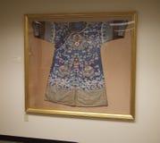 Quimono japonês na exposição no museu de Belz Fotografia de Stock Royalty Free