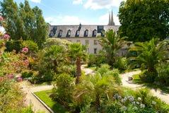 Quimper in Bretagne Stockbild
