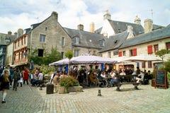 Quimper in Bretagne Stockfotos