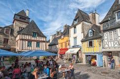 Quimper, Bretagne, Frankreich Stockbilder