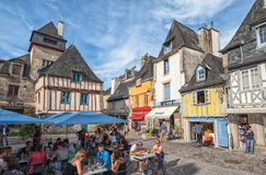 Quimper Brittany, Frankrike Arkivbilder