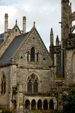 Quimper Cathedral Royalty Free Stock Photo