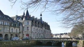Quimper, ciudad de Francia Opinión sobre la prefectura almacen de video