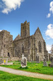 Quin abbey in Co. Clare. Ireland Royalty Free Stock Images