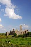 Quin abbey, county clare, ireland. Quin abbey, famous in county clare, ireland Royalty Free Stock Photography
