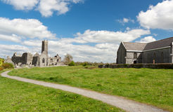 Quin abbey in Ireland Royalty Free Stock Photo