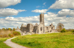 Quin abbey in Ireland Stock Images