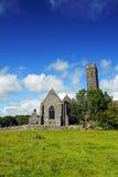 quin clare co Ирландии аббатства Стоковое Фото
