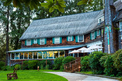 Quinault Lodge wing Stock Images