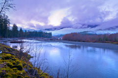 Quinault Valley Royalty Free Stock Images