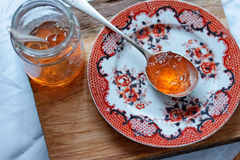 Quince Apple Jelly Royalty Free Stock Photography