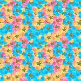 Quince, apple quince. Seamless pattern texture of flowers. Quince, apple quince. Texture of flowers. Seamless pattern for continuous replicate. Floral vector illustration