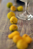 Quince as a home decoration Royalty Free Stock Photography