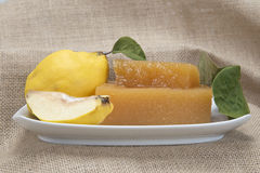 Quince cheese Stock Photo
