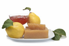 Quince cheese and jelly Royalty Free Stock Images