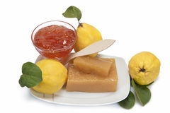 Quince cheese and jelly Stock Image