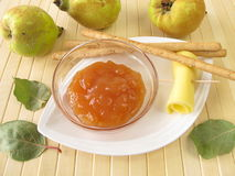 Quince chutney Royalty Free Stock Image