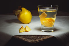 Quince compote Royalty Free Stock Image