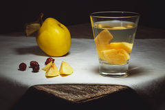 Quince compote Stock Photos