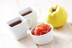 Quince confiture Royalty Free Stock Images