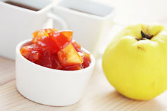 Quince confiture Stock Photography