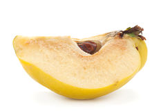 Quince fruit on white Stock Image