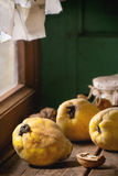 Quince and Honey Royalty Free Stock Images