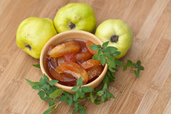 Quince jam Royalty Free Stock Photo