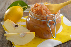 Quince jam Royalty Free Stock Images