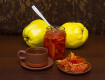 Quince jam Royalty Free Stock Photography