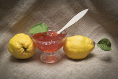 Quince jelly Royalty Free Stock Photo