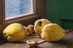Quince and nuts Stock Image