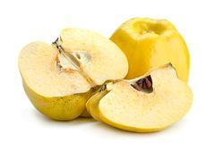 Quince ripe fruit stock image