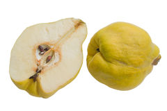 Quince and section Royalty Free Stock Photography
