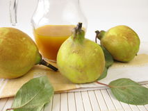 Quince syrup Royalty Free Stock Photos