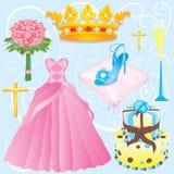 Quinceanera clip art Stock Image