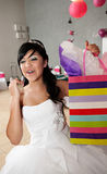 Quinceanera-Geburtstags-Mädchen Lizenzfreies Stockfoto