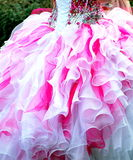 Quinceanera gown. Royalty Free Stock Photography