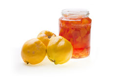 Quinces Honey Royalty Free Stock Images
