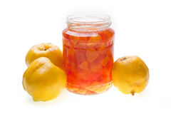 Quinces Jam Stock Photos