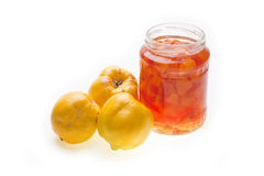 Quinces Jam Stock Photography