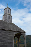 Quinchao - Chiloe -智利的教会 库存图片