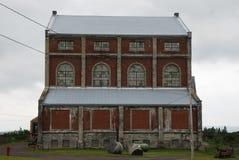 Quincy Copper Mine Steam Hoist-Gebäude lizenzfreie stockfotografie