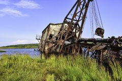 Quincy Dredge Number Two Royalty Free Stock Image