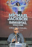 Quincy Jones, Cirque du Soleil, Michael Jackson Royalty Free Stock Photo