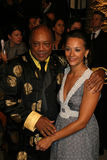 Quincy Jones,Rashida Jones Royalty Free Stock Photo