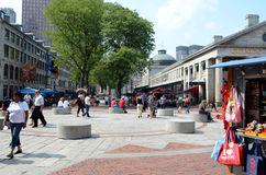 Quincy Market. Boston,Mass. September 15th 2011 Royalty Free Stock Image