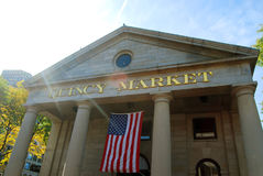 Quincy Market. In Boston, Massachusetts Royalty Free Stock Image