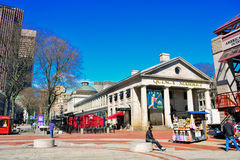 Quincy Market Boston Royalty Free Stock Image